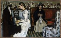 Cezanne Girl at the Piano
